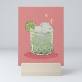 LEMON TONIC Mini Art Print