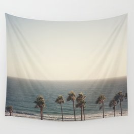 Golden Hour over Pacific Coast Highway Wall Tapestry