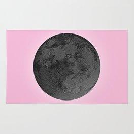BLACK MOON + PINK SKY Rug