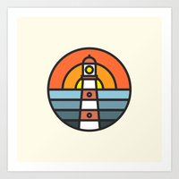 Lightouse Art Print