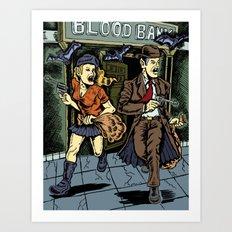 Blood Bank Art Print