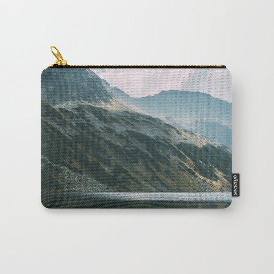 Moody Mountain Hill And Lake Carry-All Pouch