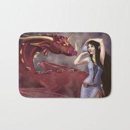 The Dragon Tamer Bath Mat