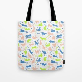 cats, cats and other cats Tote Bag