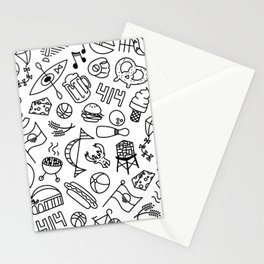 Summer In MKE • Pattern Stationery Cards