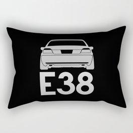 BMW E38 - silver - Rectangular Pillow