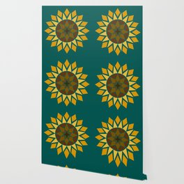 Native Sunflower Wallpaper