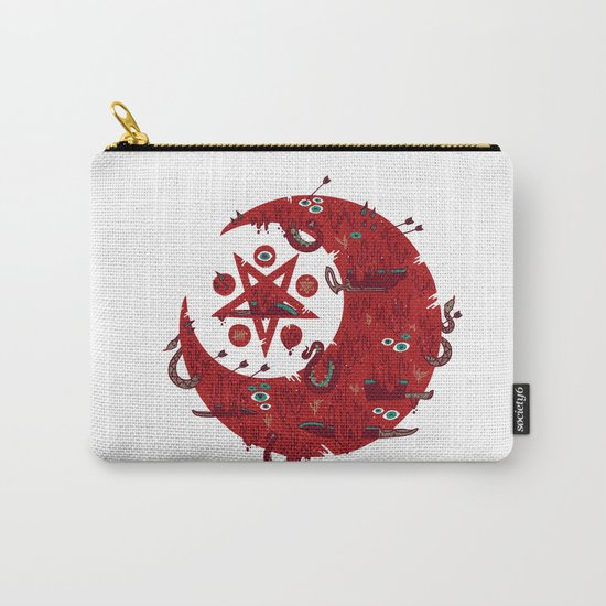 The Blood Moon Compels You to Fuck Shit Up Carry-All Pouch