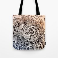 antique Tote Bags featuring Antique by Irina Vinnik