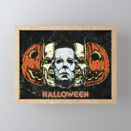Halloween Framed Mini Art Print