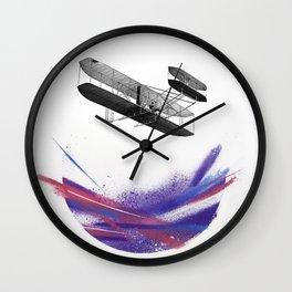Wright 3 Wall Clock