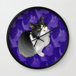 Spider Man the Cat Wall Clock