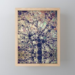 Colorful tree loves you and me. Framed Mini Art Print
