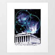 Astral Geometry Art Print