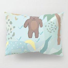 Funny Animals Pillow Sham