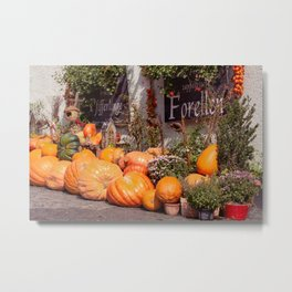 The pumpkin Metal Print
