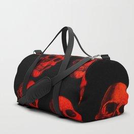 Skulls, red Duffle Bag