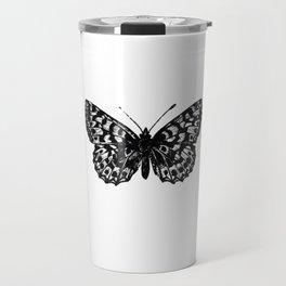 Minimalista borboleta 3 Travel Mug