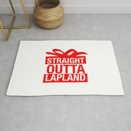 Straight Outta Lapland Rug