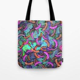 Abstract Banana Song Tote Bag