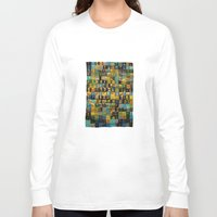 turquoise Long Sleeve T-shirts featuring Turquoise by Pani Grafik