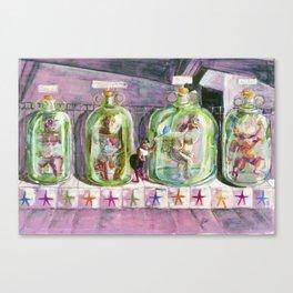 Freak Show Canvas Print