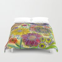 boho Duvet Covers featuring Boho by Sand Salt Moon