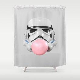 Stormtrooper Bubble Gum Shower Curtain