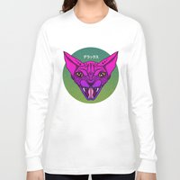 sphynx Long Sleeve T-shirts featuring SPHYNX by SHIN DE☆LUXE