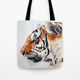 TIGER IN WATERCOLOR Tote Bag