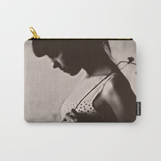 the girl Carry-All Pouch