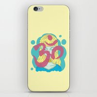 om iPhone & iPod Skins featuring Om by Monstruonauta