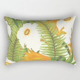 Summer Narcissus Rectangular Pillow