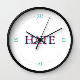 Love and Нate Wall Clock