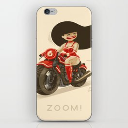 Bonneville Zoom! iPhone Skin