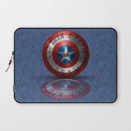 Team Typography USA Flag USA Symbol Laptop Sleeve