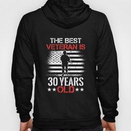 30 Birthday Present Veteran 30 Years Veterans Day Hoody