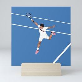 Roger Federer Backhand Mini Art Print