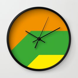 Maybe with some copy it could be better. They seems colorful sharp comics balloons. Wall Clock