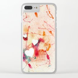 Warms My Heart Clear iPhone Case