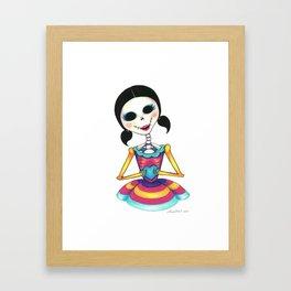 Romeo, oh Romeo - Dia de los Muertos Framed Art Print