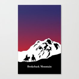 Brokeback Mountain Canvas Print