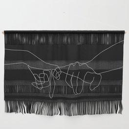 Black Pinky Swear Wall Hanging