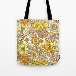 Thrifted Linen Goldenrod Tote Bag