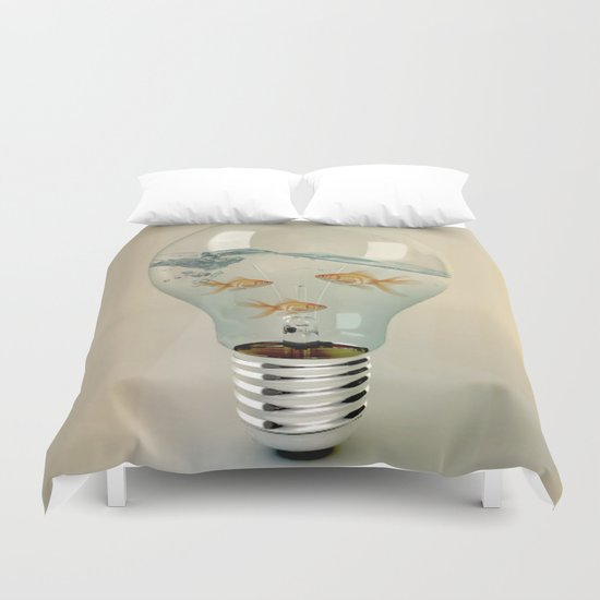 ideas and goldfish 03 Duvet Cover
