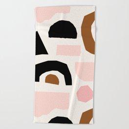 Paper Pieces 1 Beach Towel