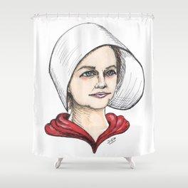 Handmaid Shower Curtain