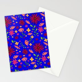 Bright and Bold Flowers Stationery Cards