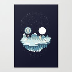 Winter skull Canvas Print