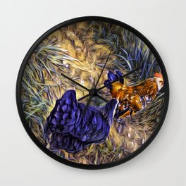 Its Over This Way Wall Clock